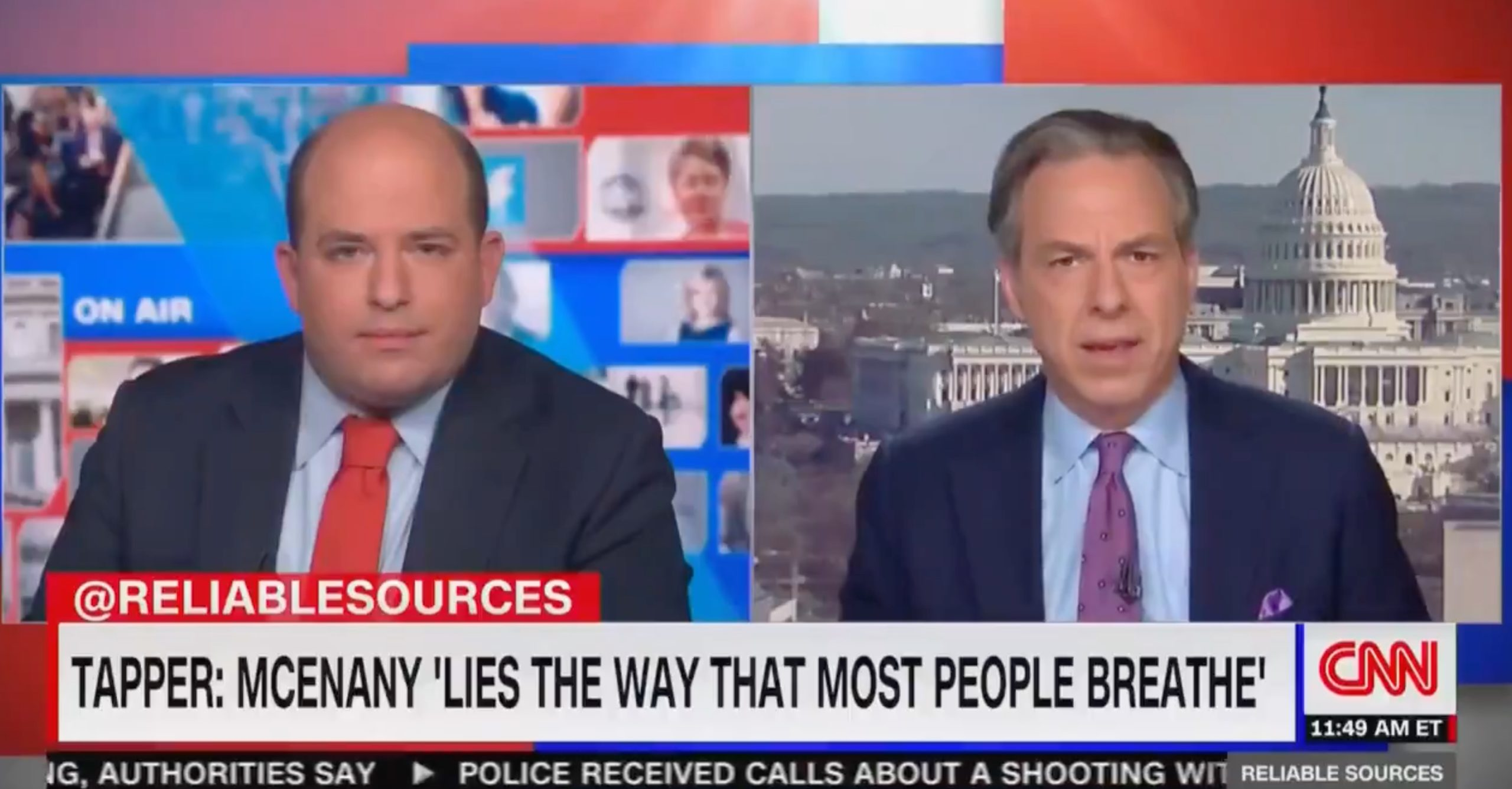 Jake Tapper: Kayleigh McEnany lies the way most people breathe.