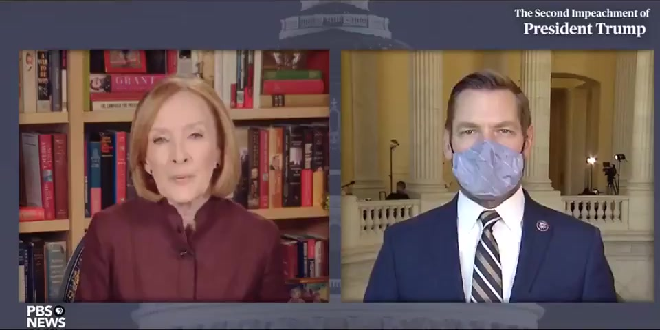 Rep. Swalwell compared the President of the United States to Osama bin Laden